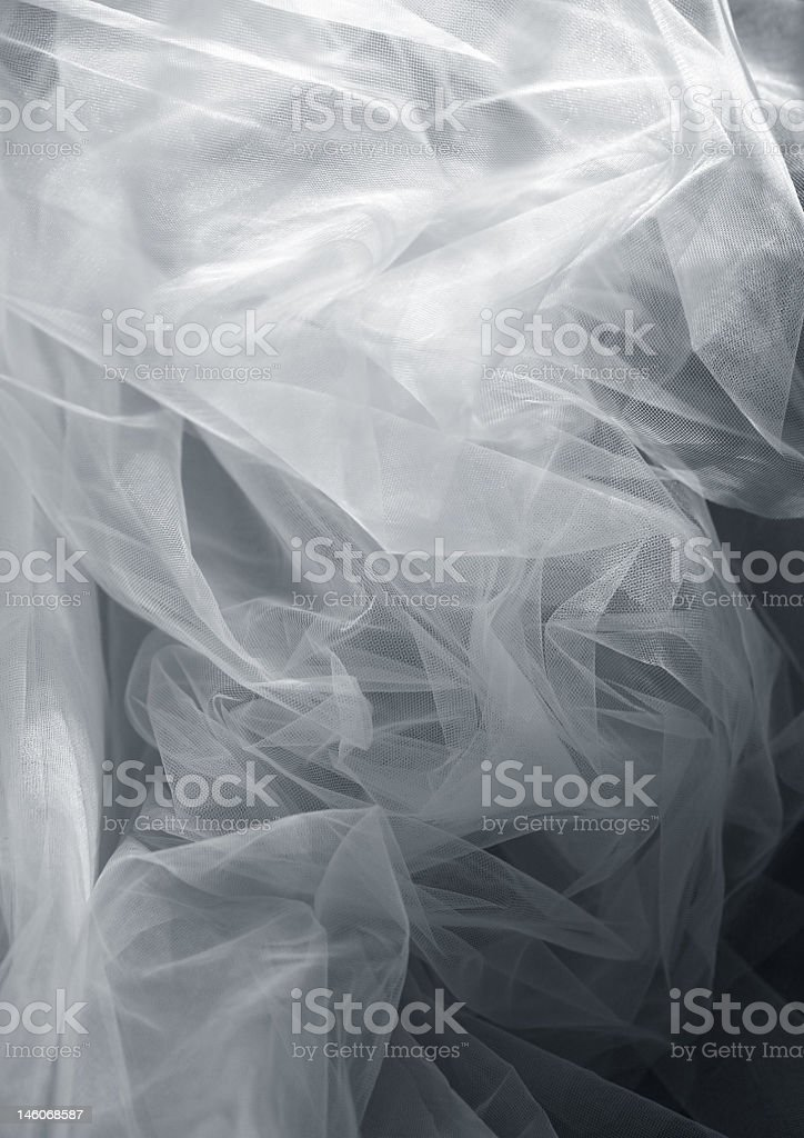 X-ray grayscale illustration of fabric royalty-free stock photo