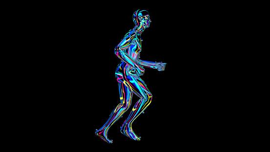 692684668 istock photo x-ray humain body colorful, humain body scan 1186540983