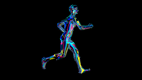 692684668 istock photo x-ray humain body colorful, humain body scan 1186541059