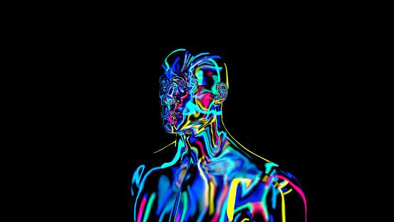 692684668 istock photo x-ray humain body colorful, humain body scan 1186541088