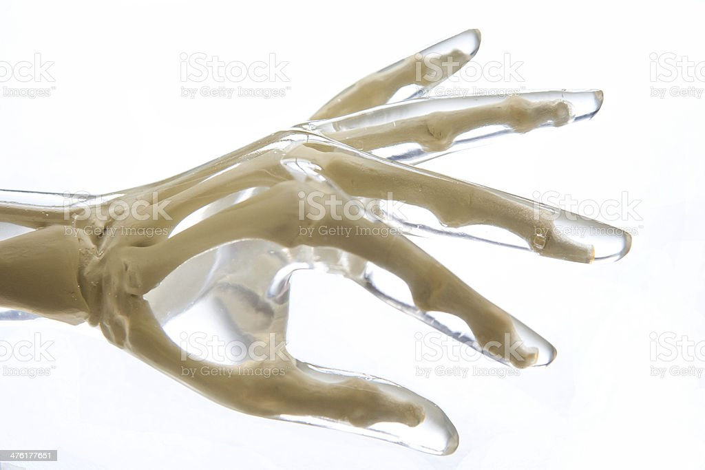 X-Ray Phantom Hand royalty-free stock photo