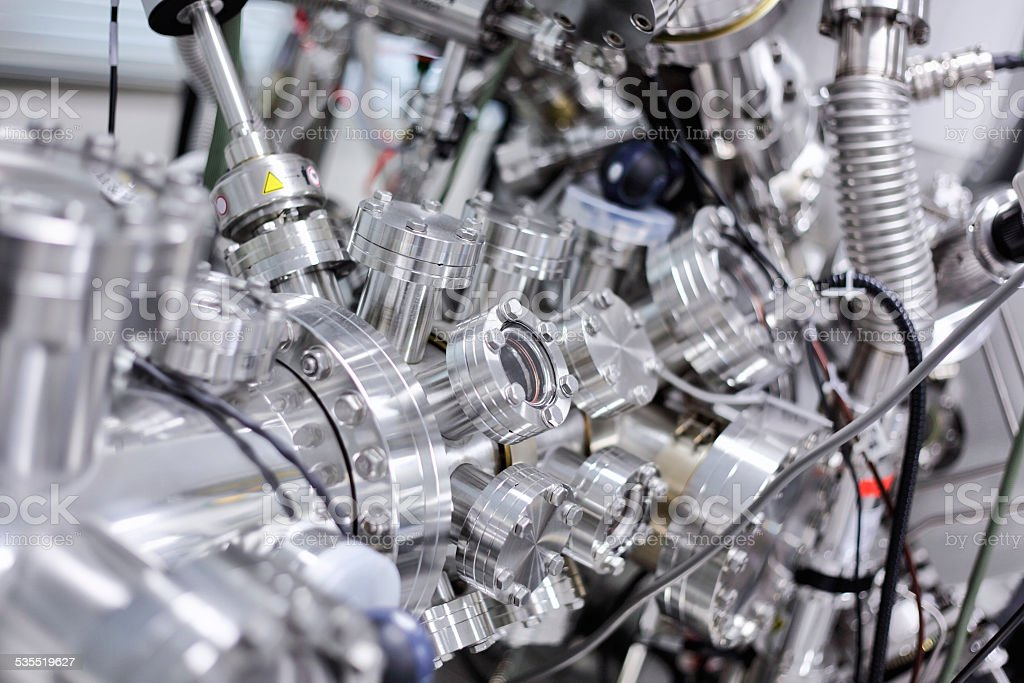 X-ray photoelectron spectrometer (XPS) stock photo