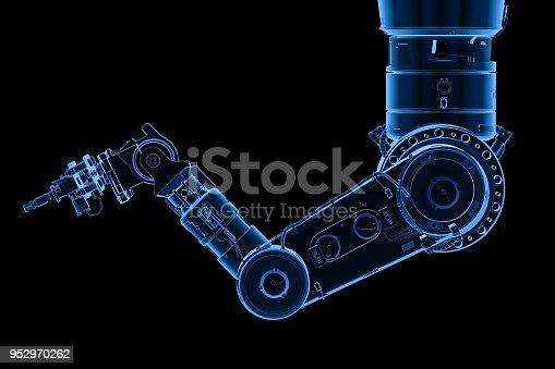 istock x-ray robotic arm 952970262