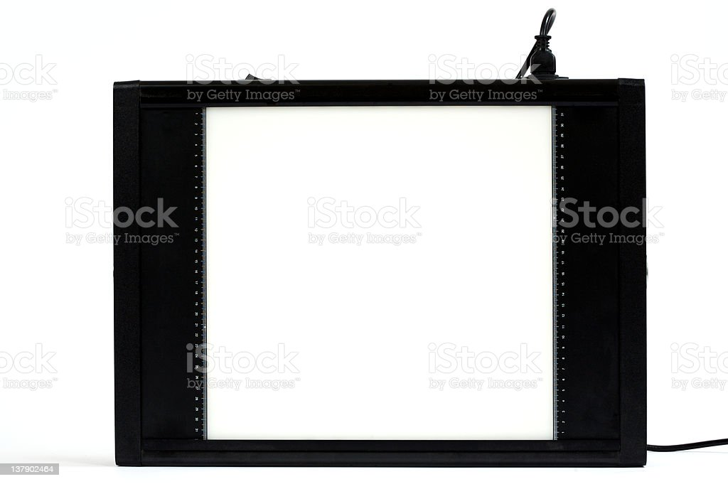 X-Ray Viewer royalty-free stock photo