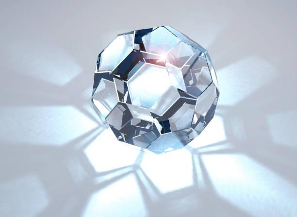 xxlarge, heldere, glanzende diamant - veelvlakkig stockfoto's en -beelden