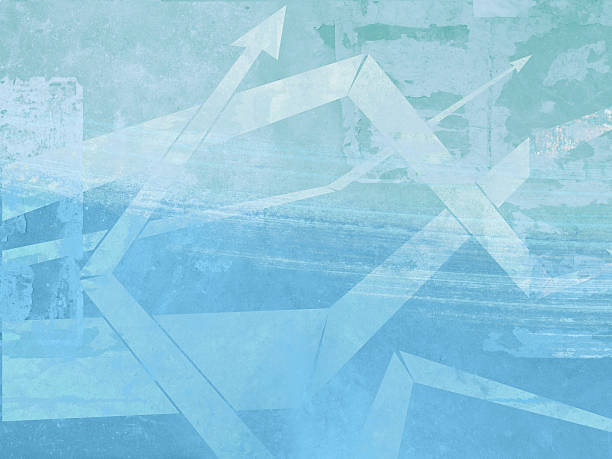 XXL-Grungy wallpaper arrows stock photo