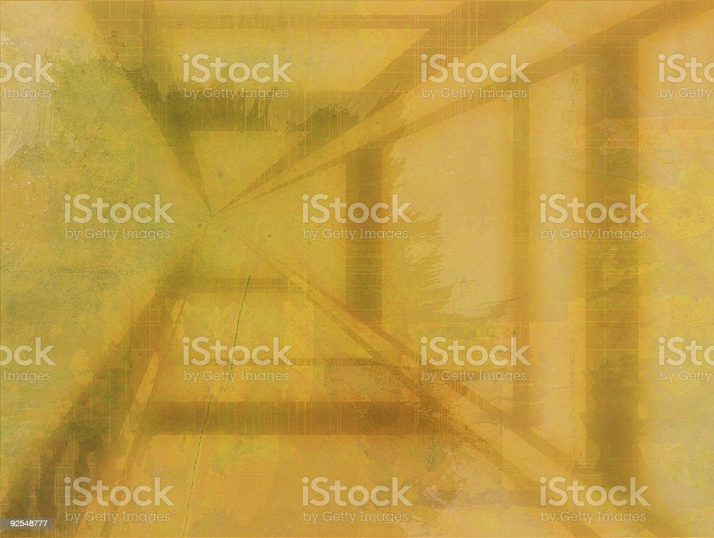 XXL-Grungy wallpaper yellow construction royalty-free stock photo