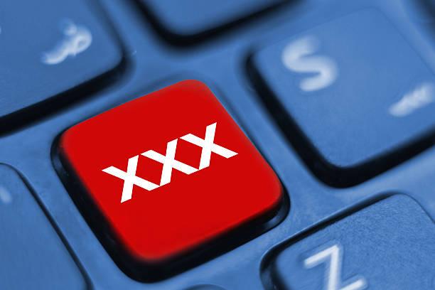 xxx keyboard key stock photo