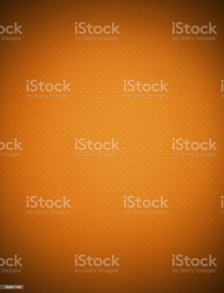 XXXLarge Orange Textured Paper With Vignette royalty-free stock photo