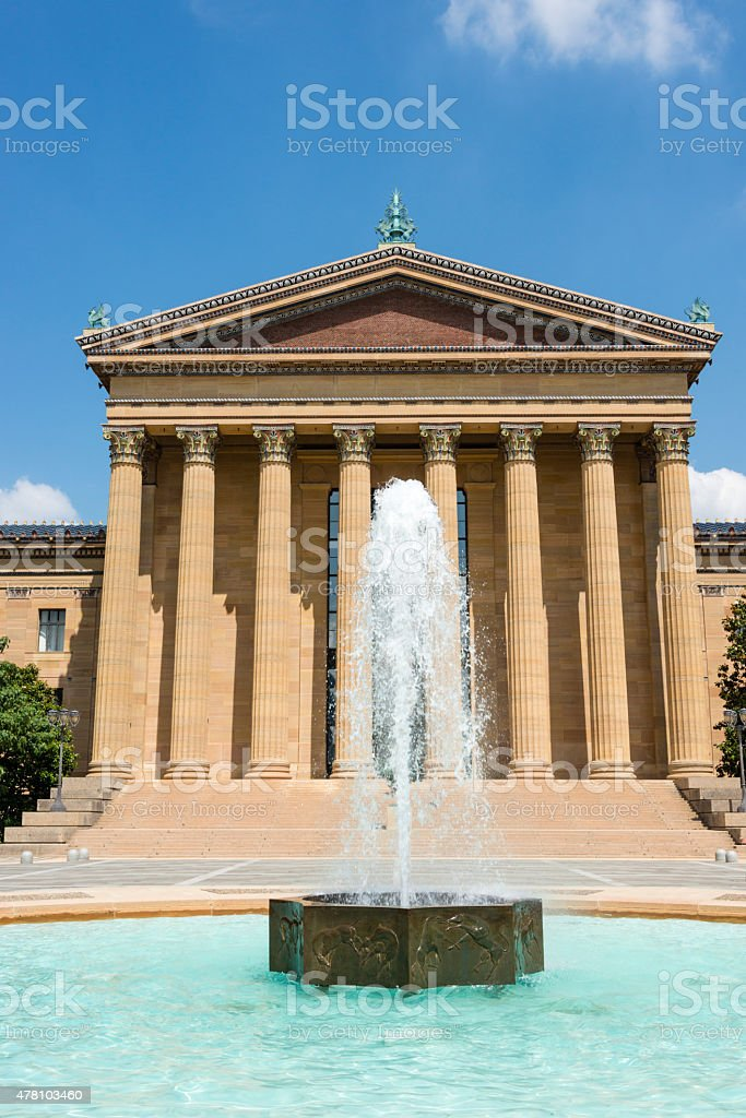 XXXL:Philadelphia Museum of Art stock photo