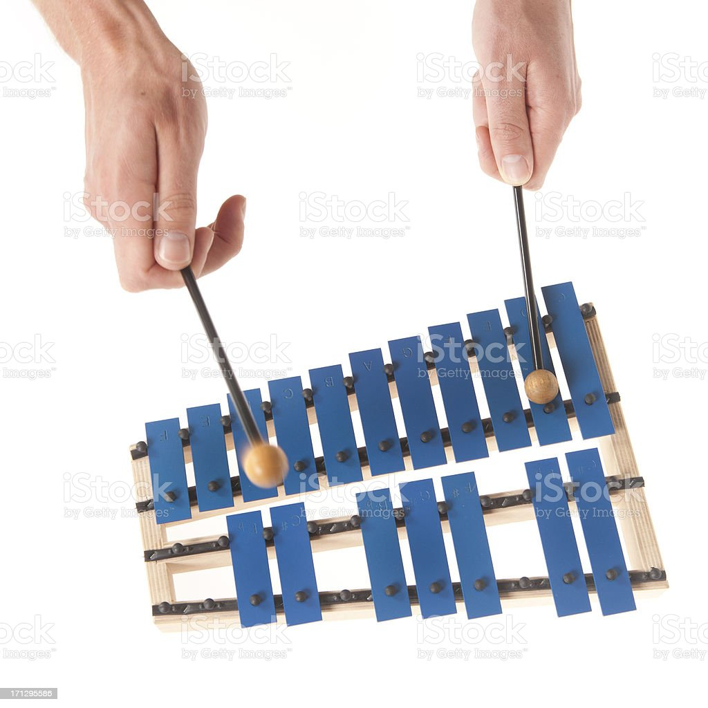 Xylophone for educational use stock photo