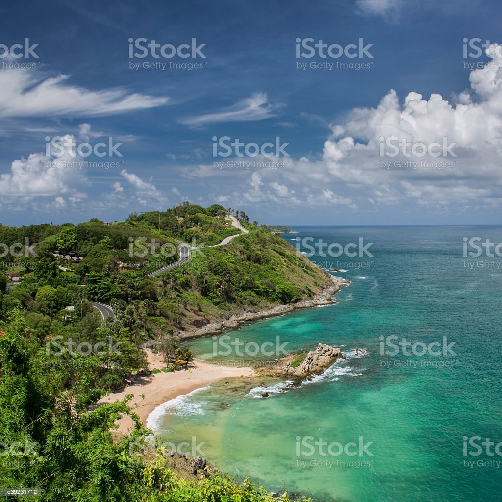 Ya Nui beach in Phuket island in Thailand royalty-free stock photo