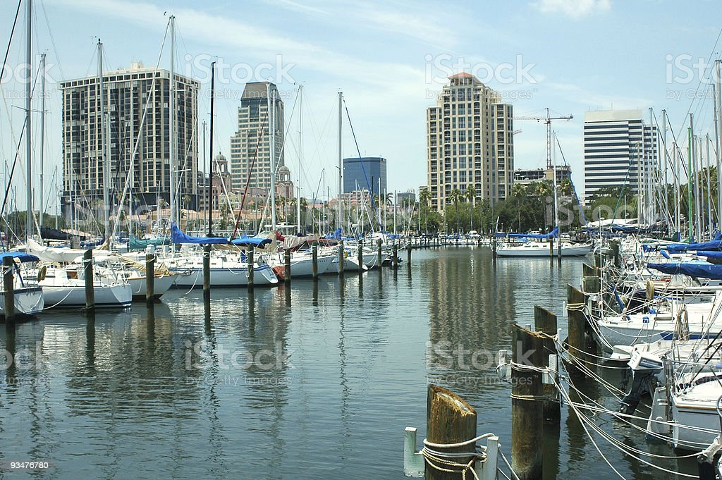 Yacht Basin 1 royalty-free stock photo
