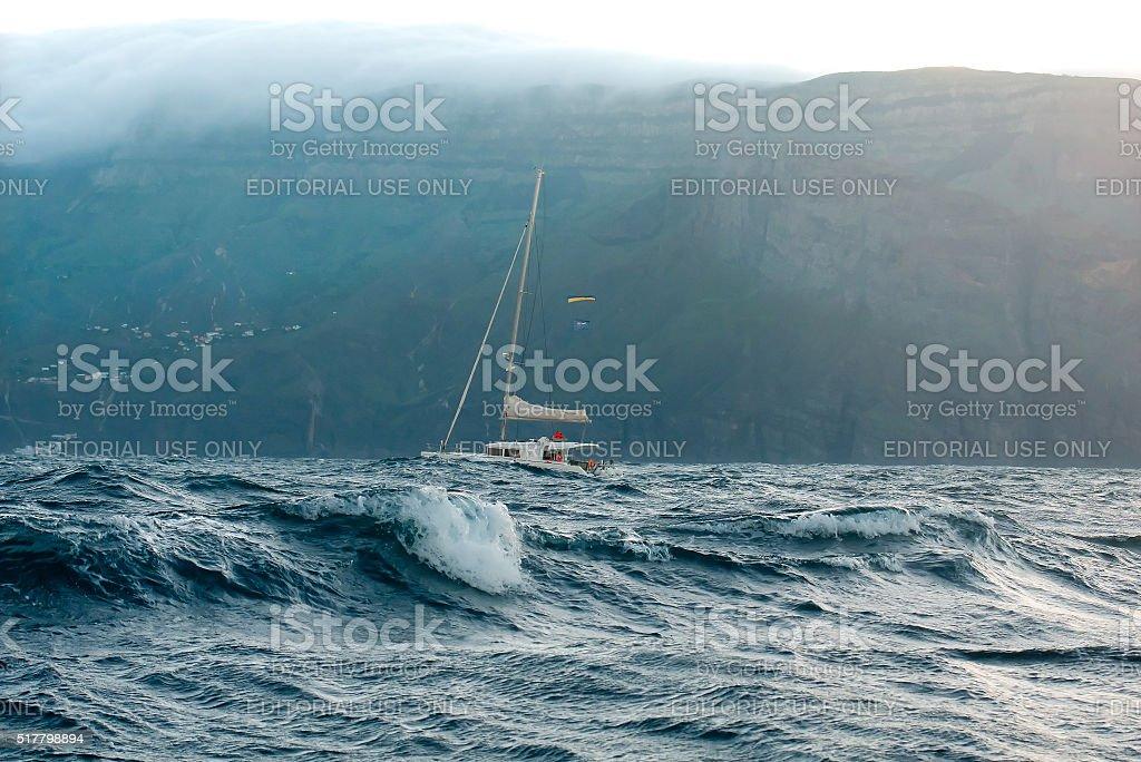 Yacht en Catamaran - Photo