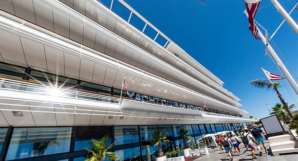 Yacht Club de Monaco stock photo