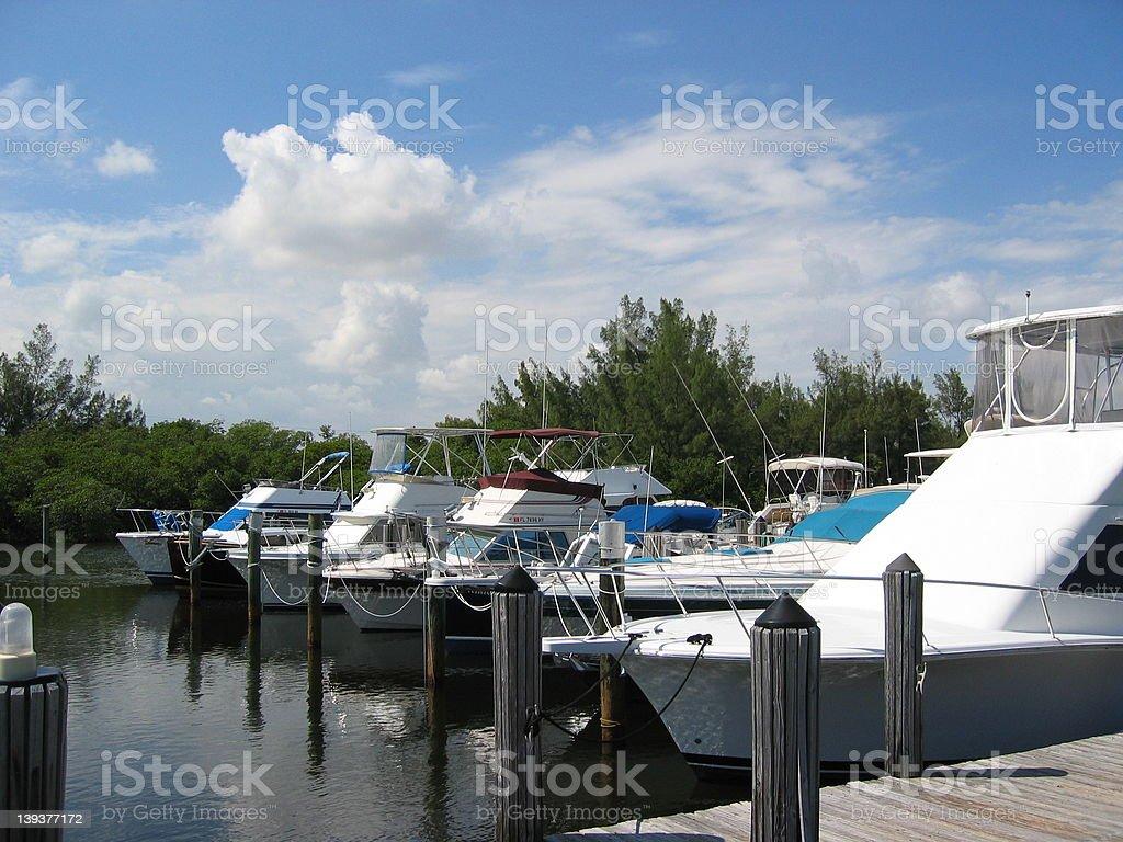 Yacht Club royalty-free stock photo