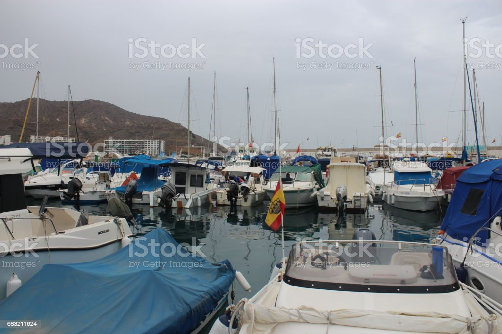 Yacht Collection , Gran Canaria royalty-free stock photo