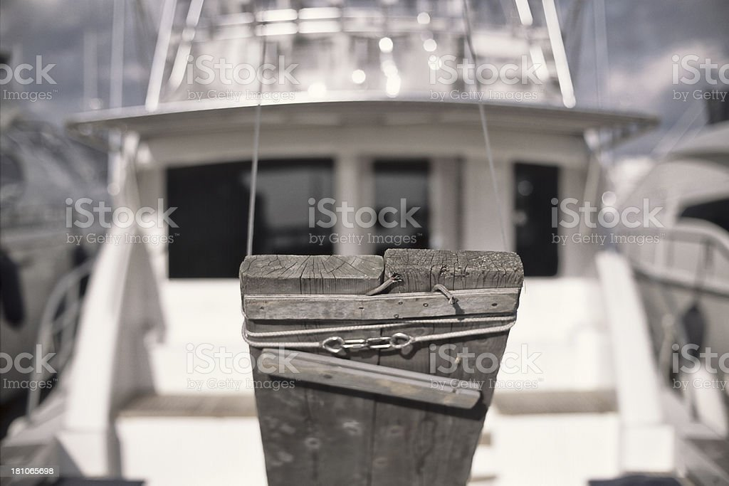 yacht gangway royalty-free stock photo