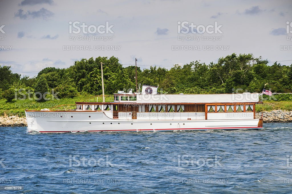 Yacht of the Presidents royalty-free stock photo