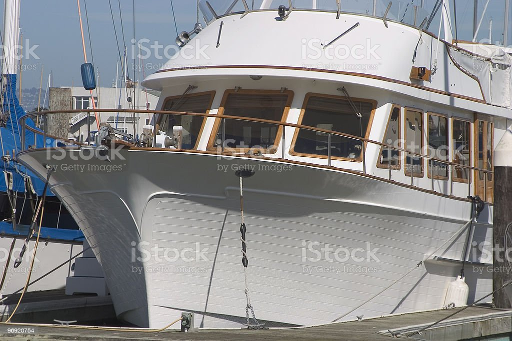 Yacht #4 royalty-free stock photo