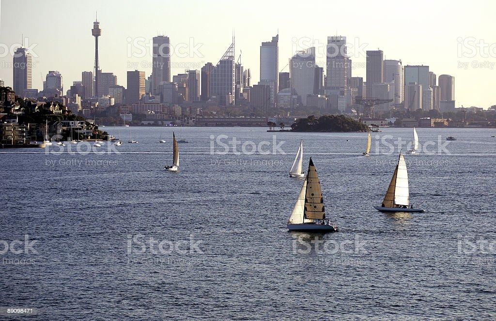 Yacht der Regatta Lizenzfreies stock-foto