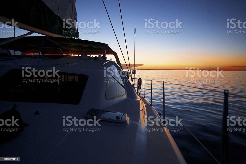 Yachting Paradise stock photo