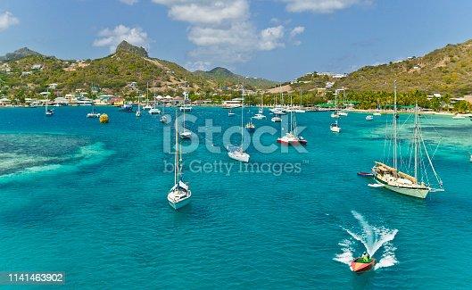 istock yachts at anchor 1141463902