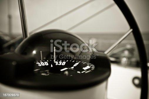 istock Yacht's Compass 157329370