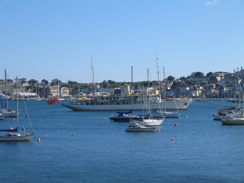 Yachts in Falmouth Harbour
