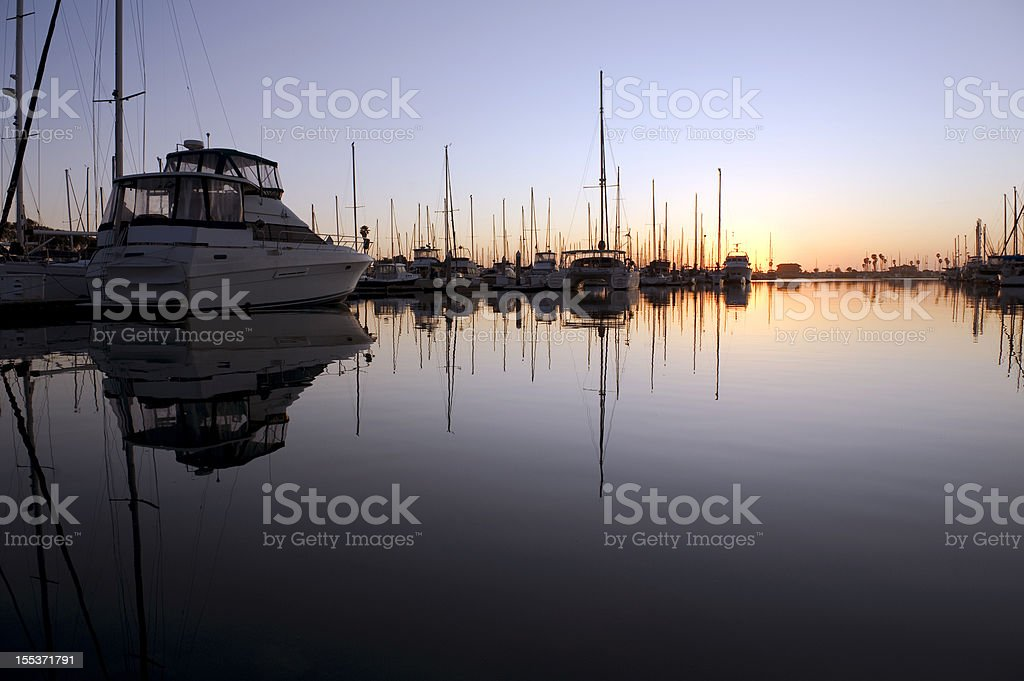 Yacht's royalty-free stock photo