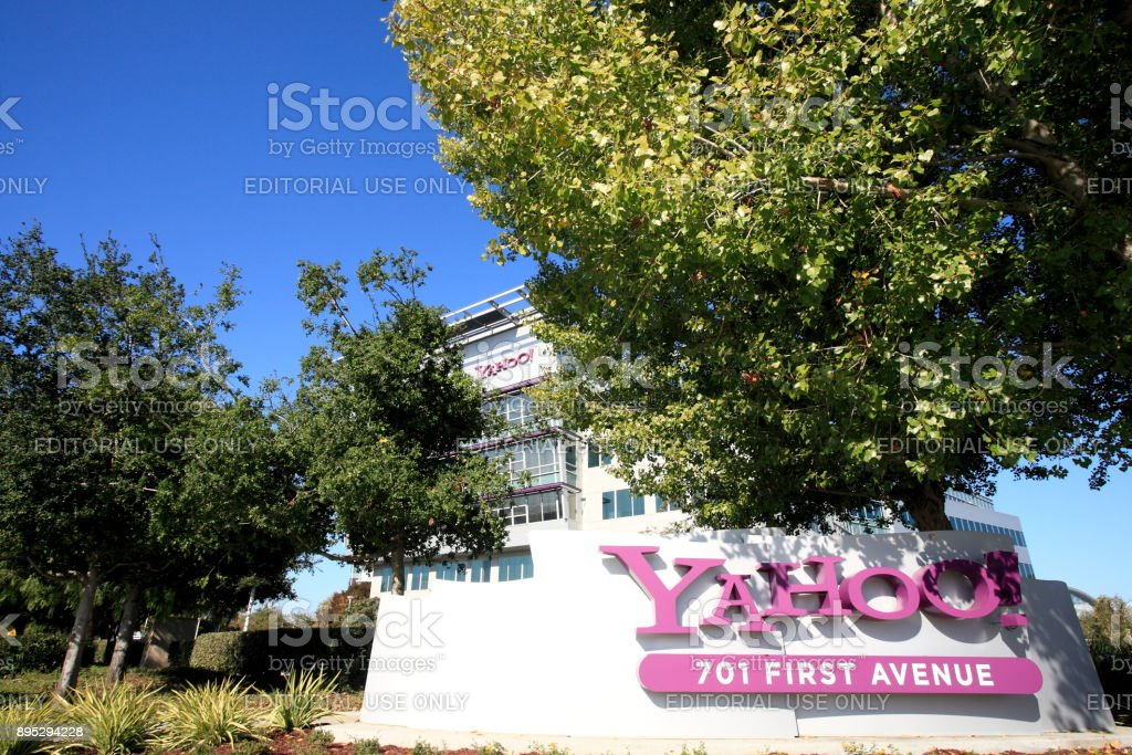 Yahoo headquarter stock photo