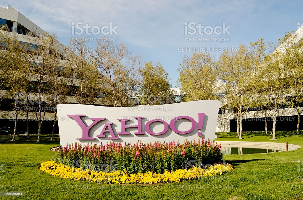 yahoo headquarters in silicon valley royalty-free stock photo