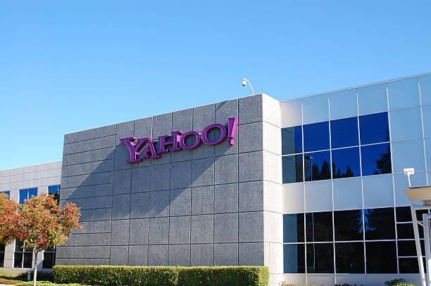 yahoo headquarters in silicon vallye stock photo