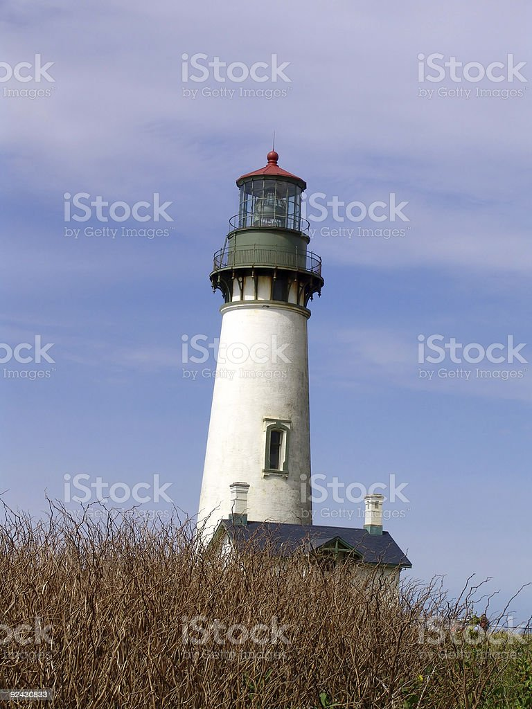 Yakina Head Lighthouse royalty-free stock photo