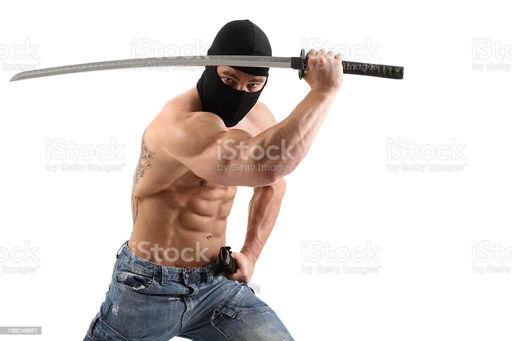 Yakuza royalty-free stock photo
