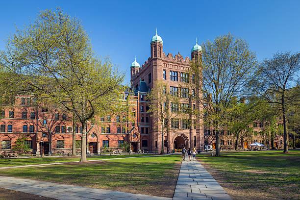 Universidade de Yale edifícios - foto de acervo