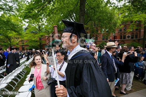istock Yale University graduation ceremonies 474306164