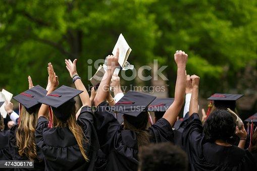 istock Yale University graduation ceremonies 474306176