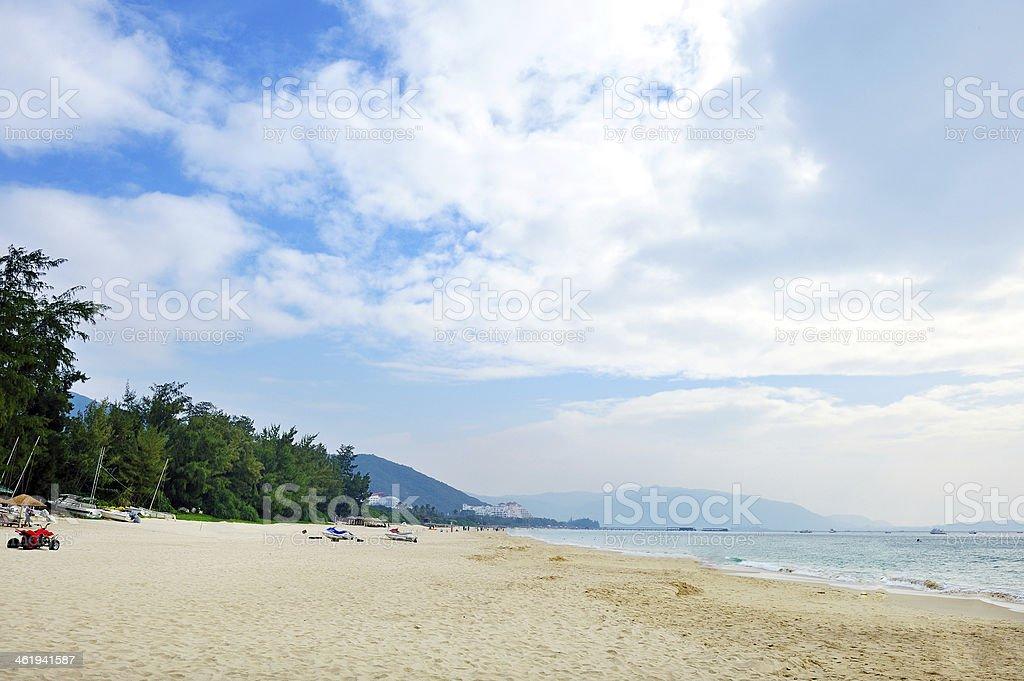 Yalong Bay stock photo