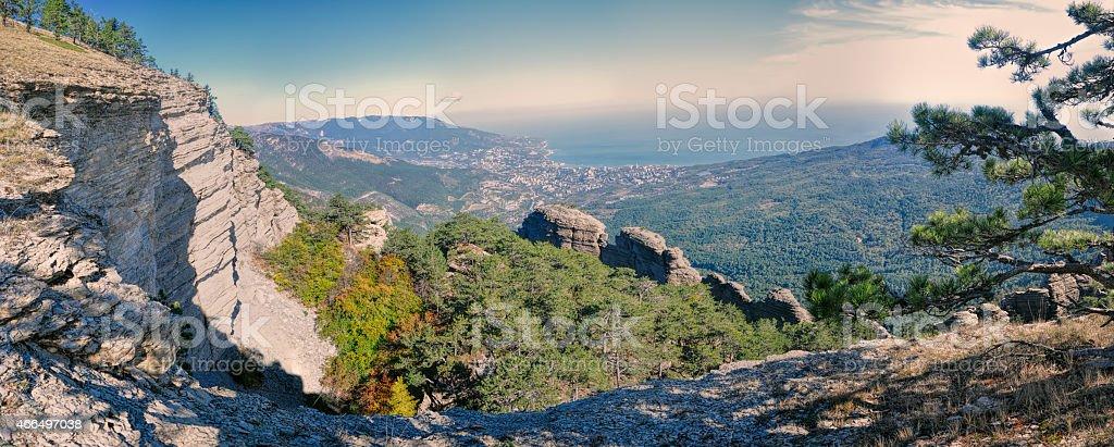 Yalta in Ukraine stock photo