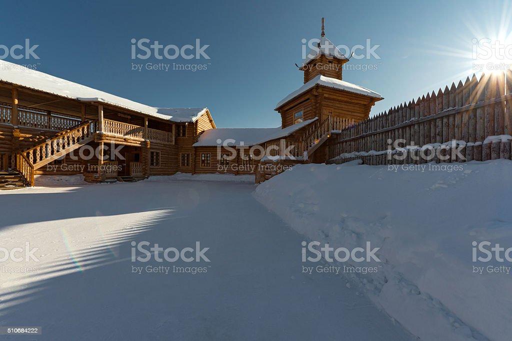 Yalutorovsky fortress stock photo