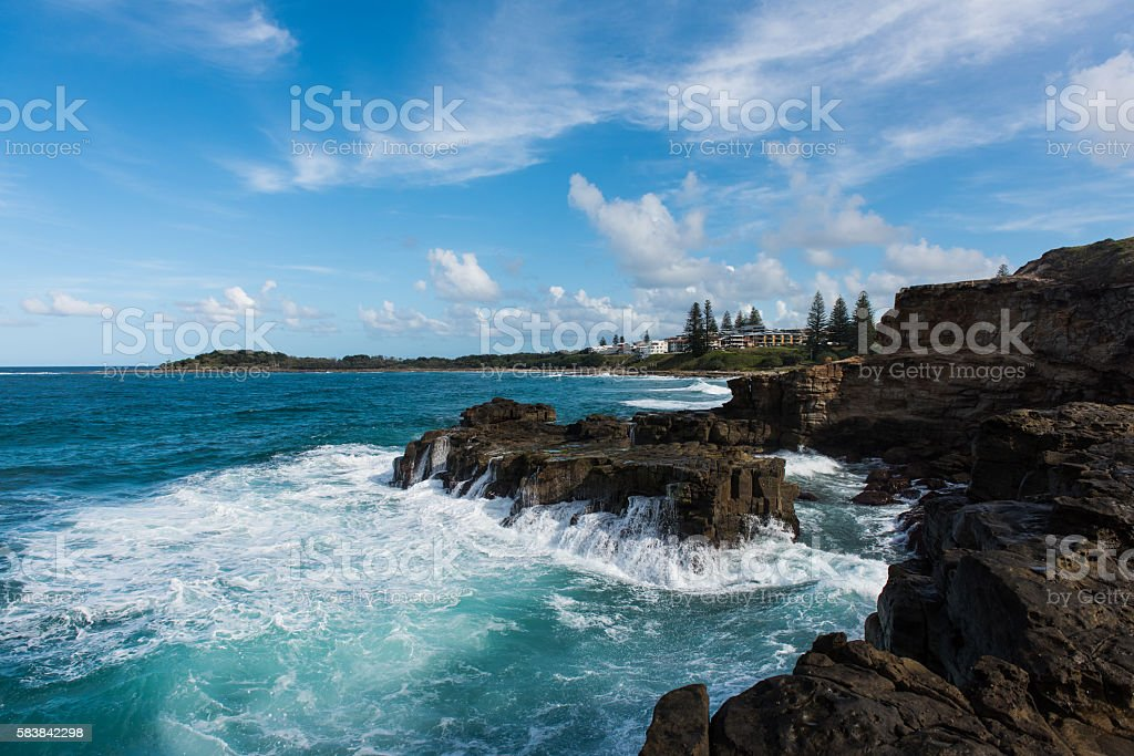 Yamba, Australia stock photo
