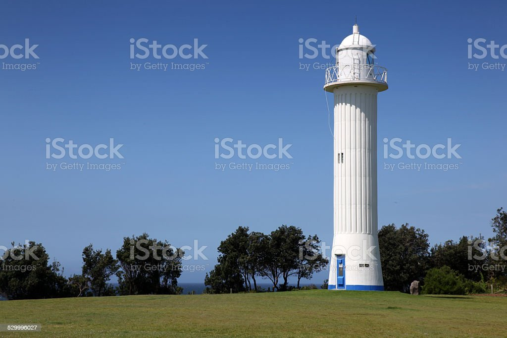 Yamba Lighthouse stock photo
