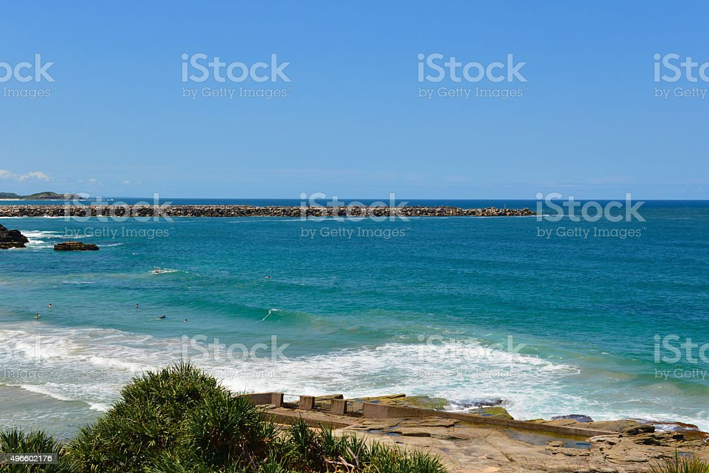 Yamba, New South Wales stock photo
