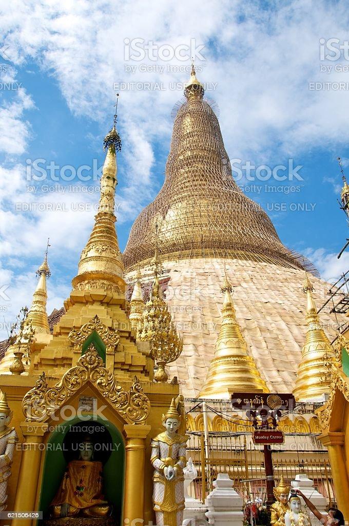 yangon shwedagon 10 Lizenzfreies stock-foto