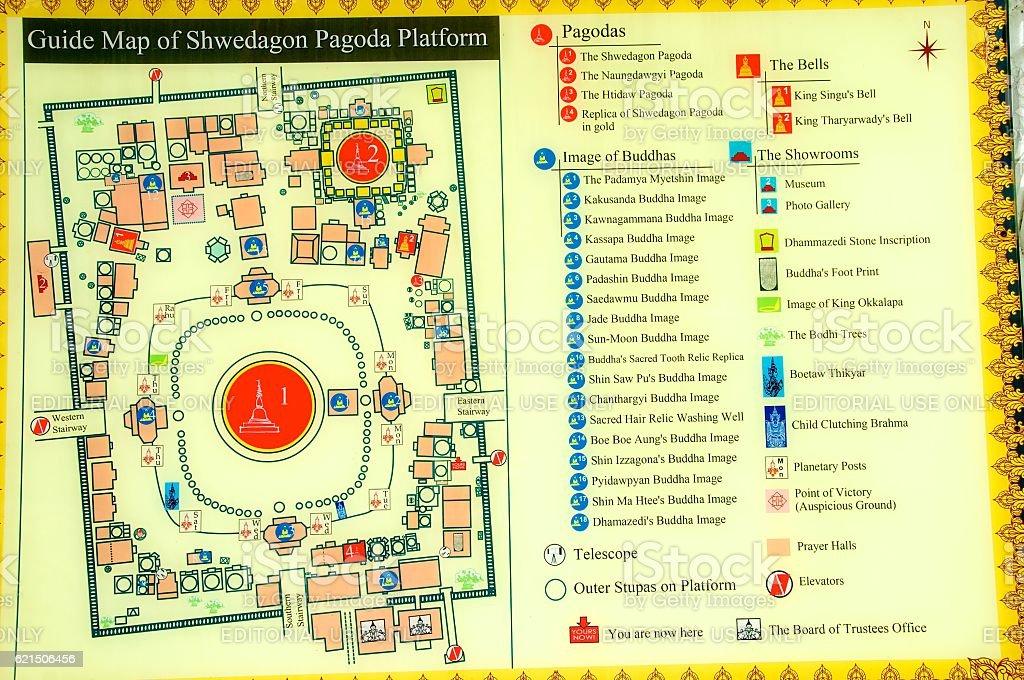 yangon shwedagon 11 Lizenzfreies stock-foto