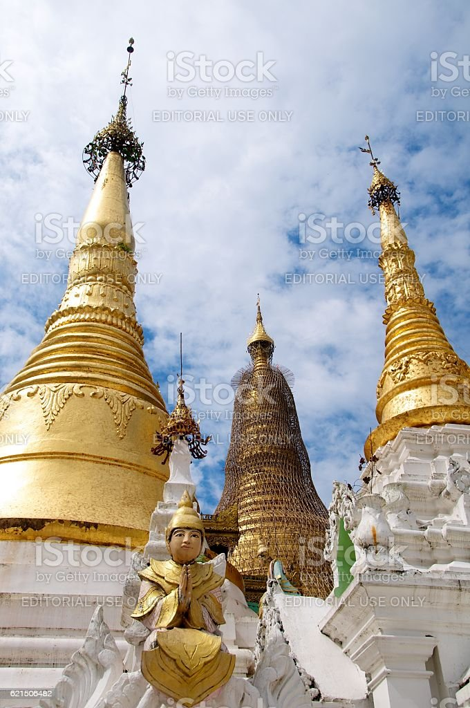 yangon shwedagon 12 photo libre de droits