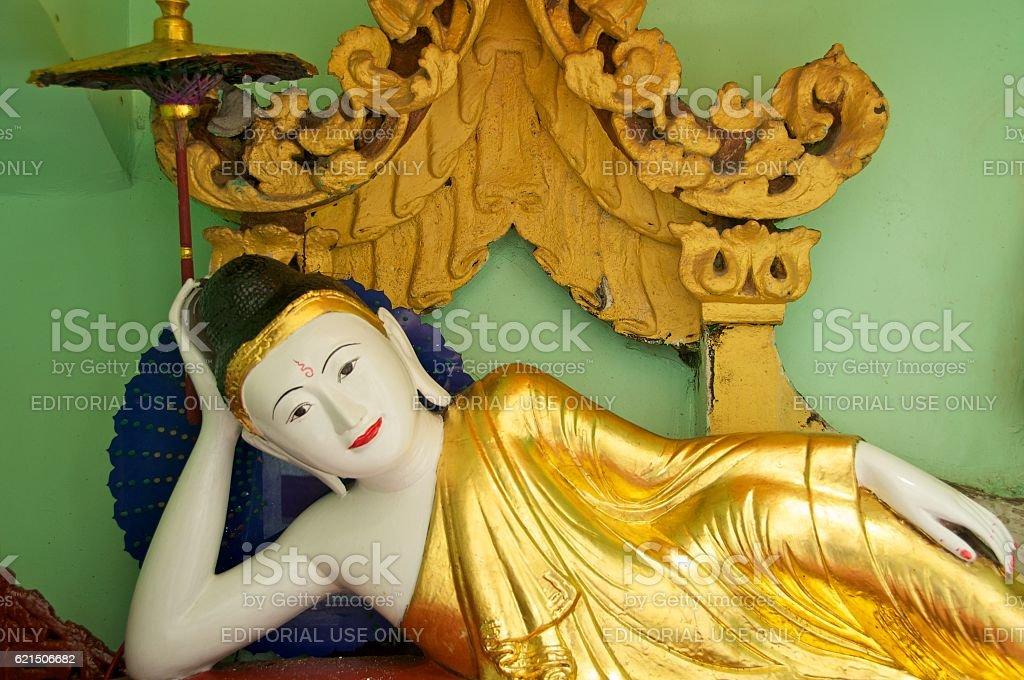 yangon shwedagon 16 photo libre de droits