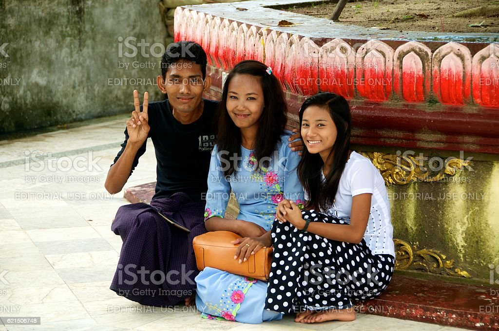yangon shwedagon 18 Lizenzfreies stock-foto