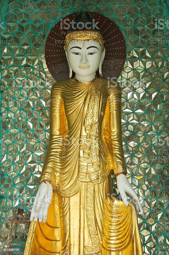 yangon shwedagon 19 photo libre de droits